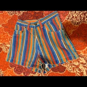 Vintage made in the USA retro shorts!
